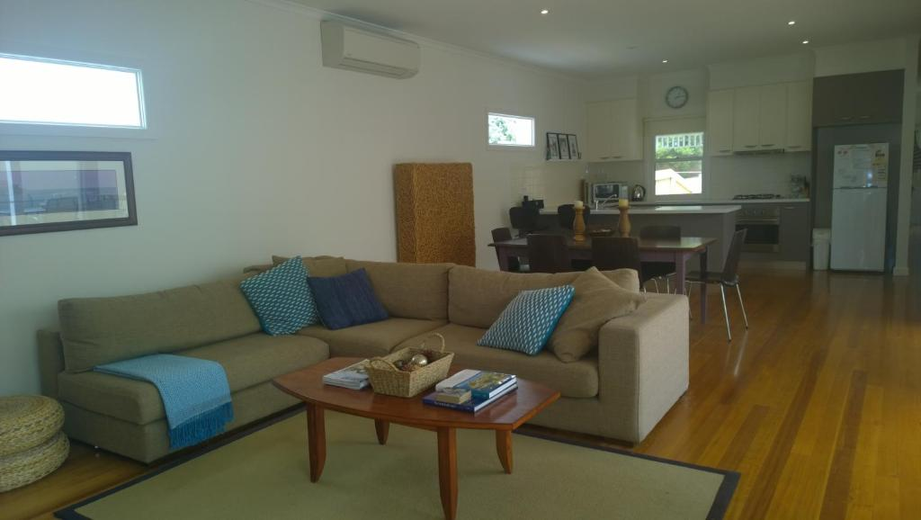 A seating area at Cooinda