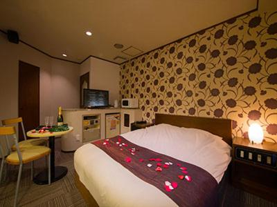 A bed or beds in a room at Will Resort Kamakura (Adult Only)
