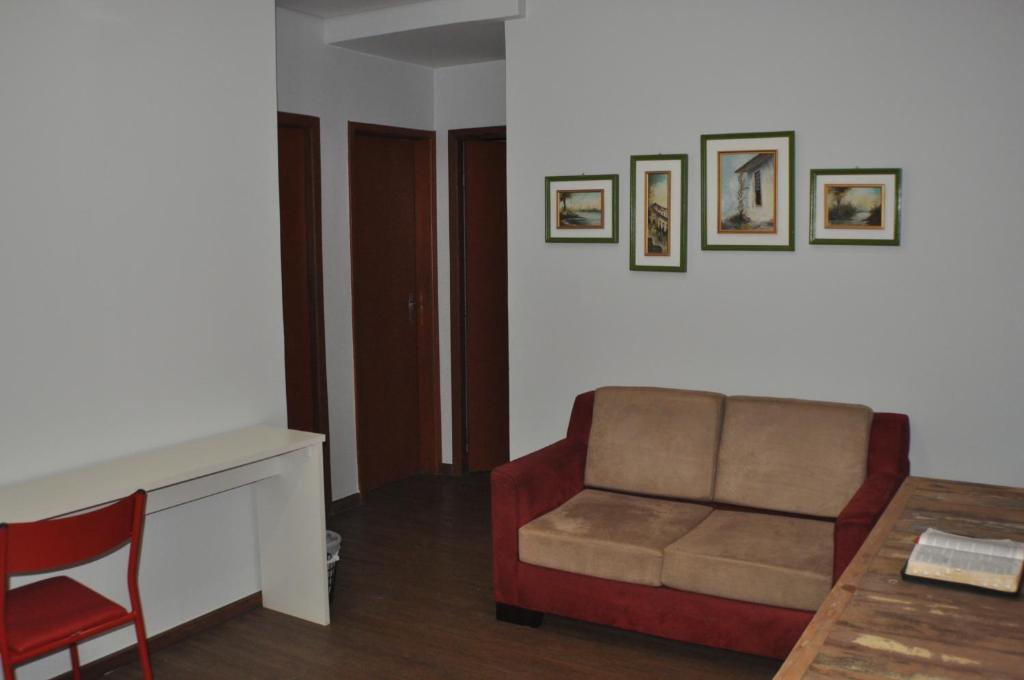 A seating area at Casa de Flor