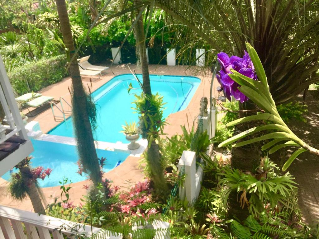 A view of the pool at St. Lucia Wetlands Guest House or nearby