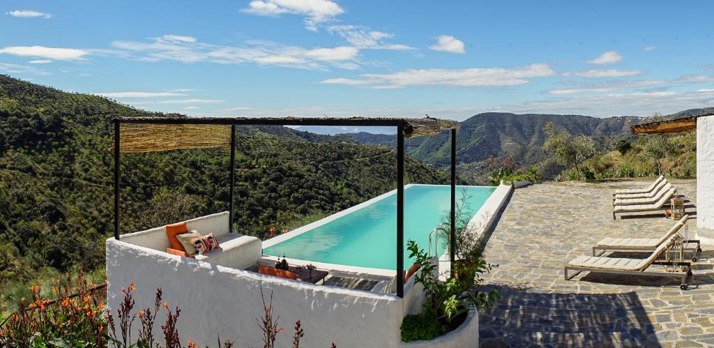 A view of the pool at Cortijo Juan Salvador or nearby