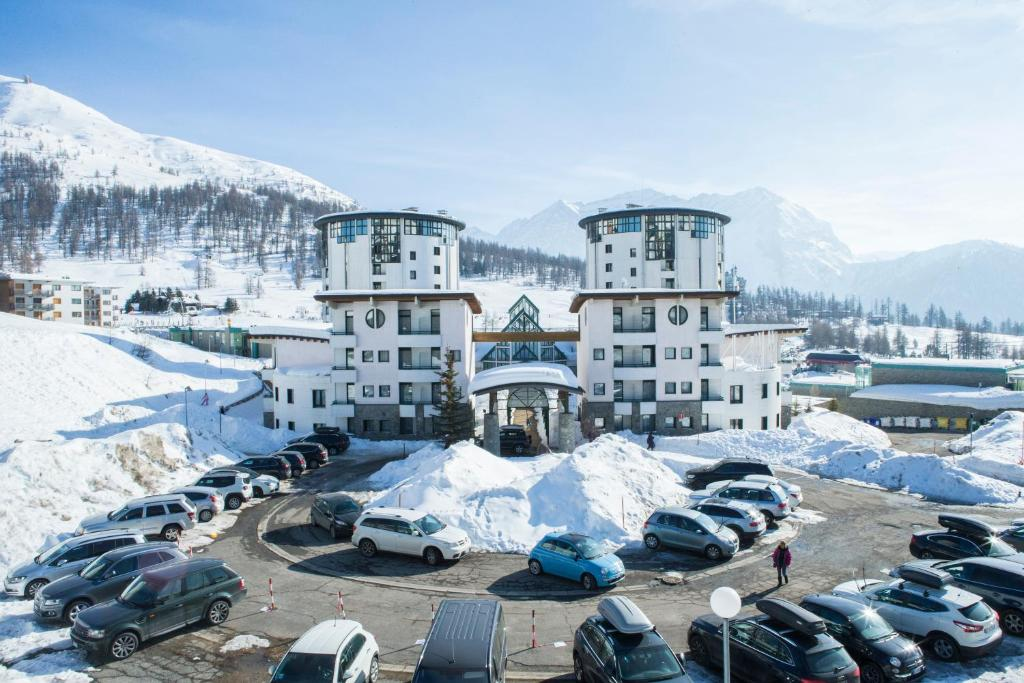 Uappala Sestriere during the winter