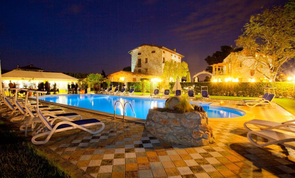 The swimming pool at or near B&B Villa Corte Degli Dei