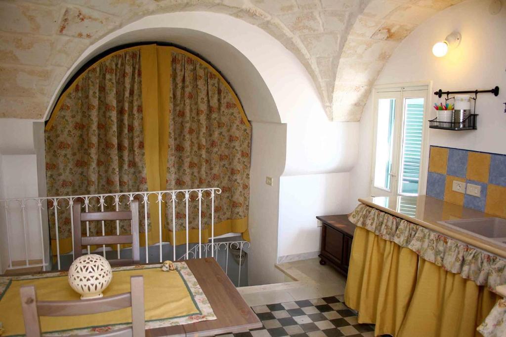 Area soggiorno di B&B PugliaMeraviglia