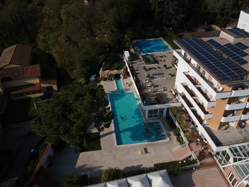 Vista aerea di Hotel Terme Millepini