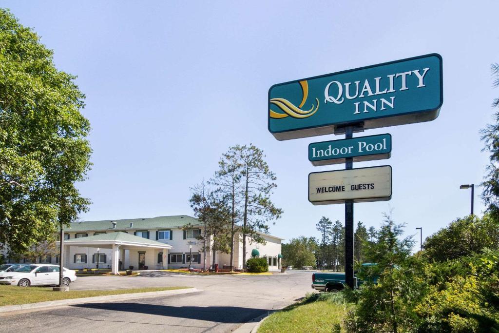 The Quality Inn Bemidji.