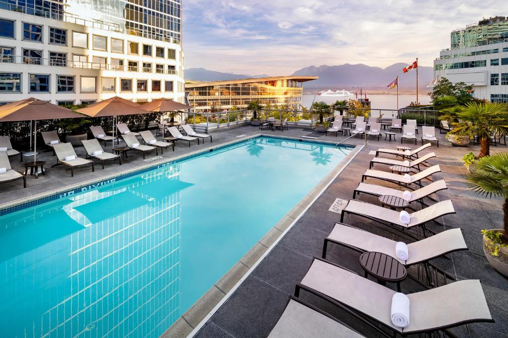 The swimming pool at or near Fairmont Waterfront