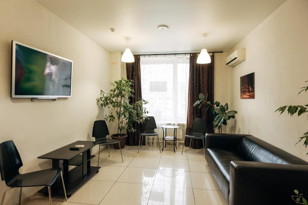 Гостиная зона в Life Hotel Samara