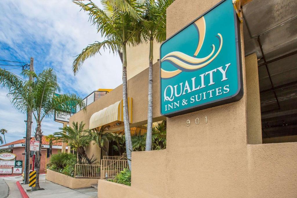The Quality Inn & Suites Hermosa Beach.