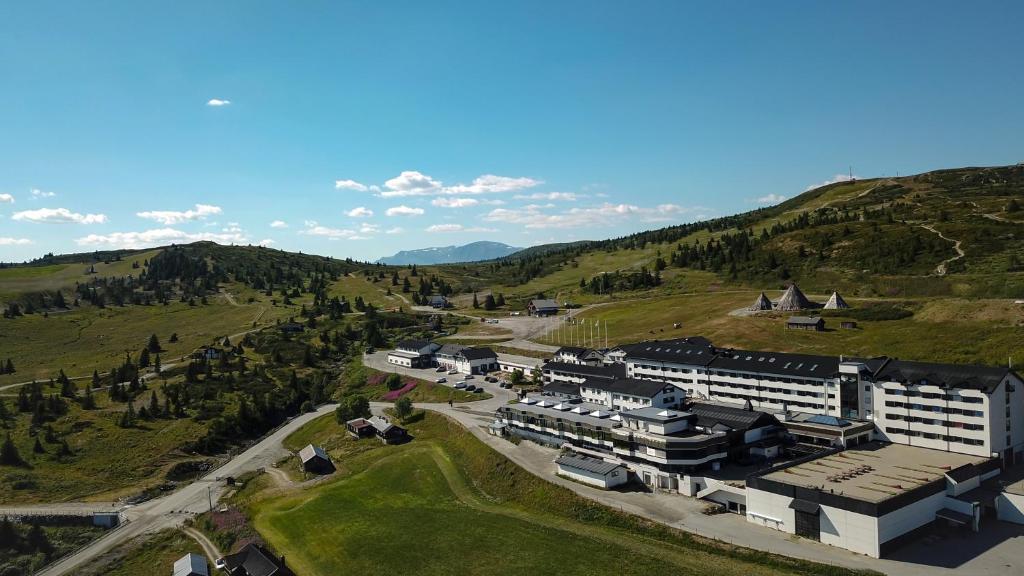 A bird's-eye view of Storefjell Resort Hotel