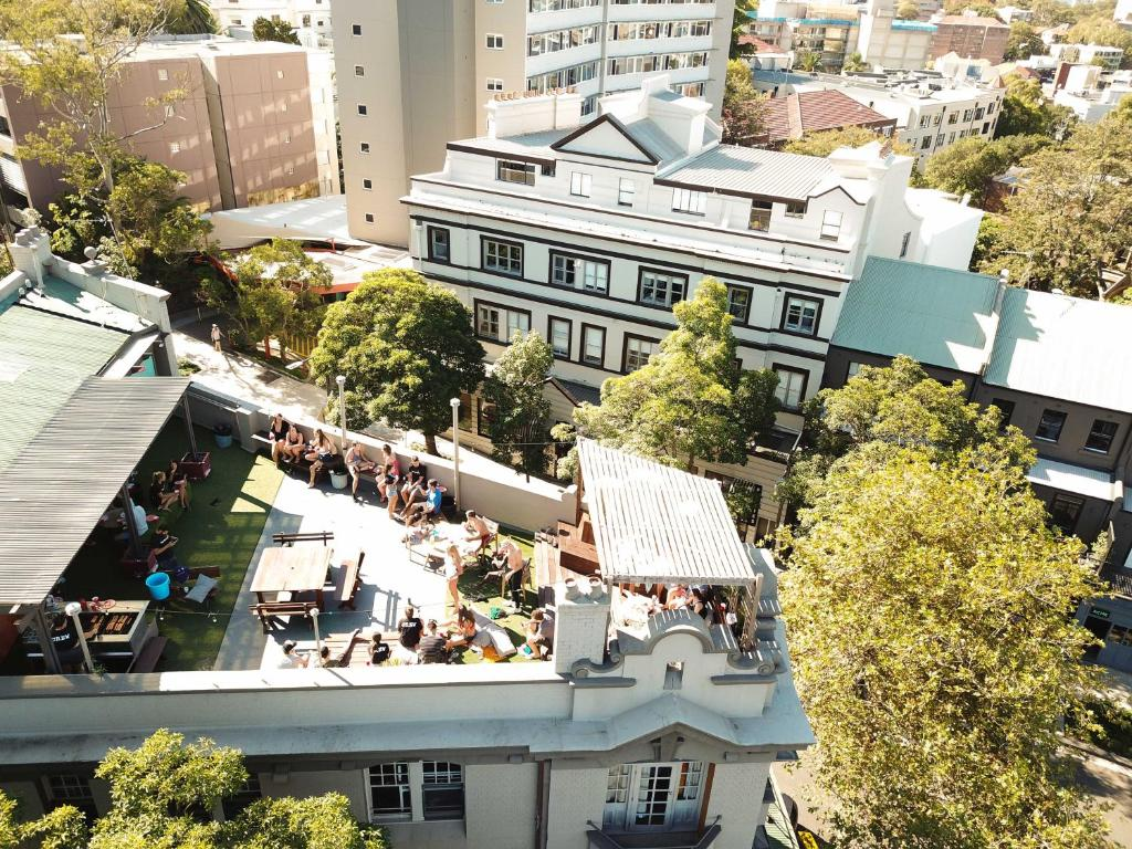 A bird's-eye view of Mad Monkey Backpackers Bayswater