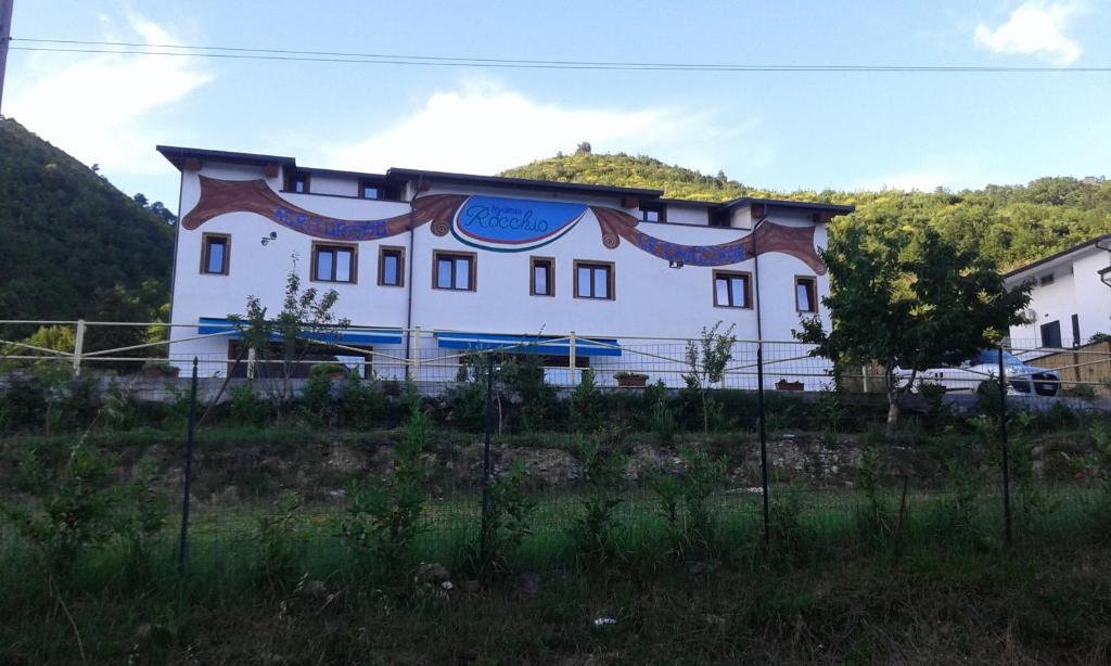 Edificio in cui si trova l'agriturismo