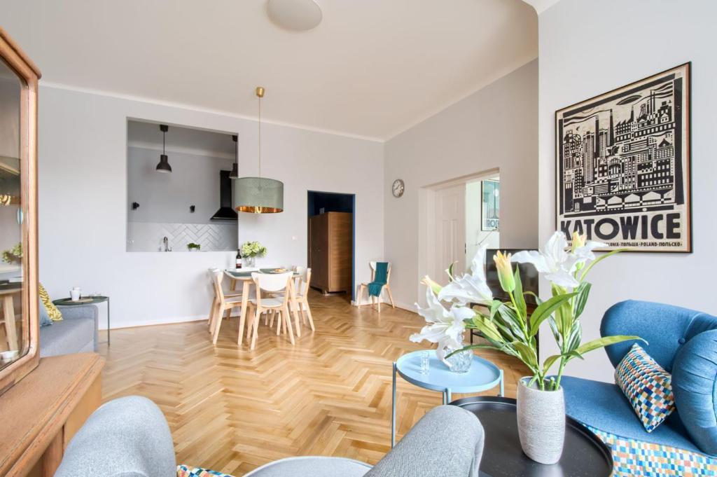 Część wypoczynkowa w obiekcie P&O Apartments Marszałkowska