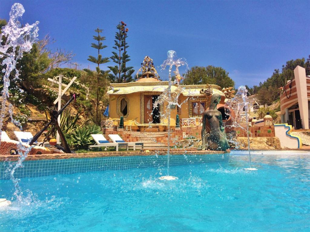 The swimming pool at or near Villa Ana Margarida Beach
