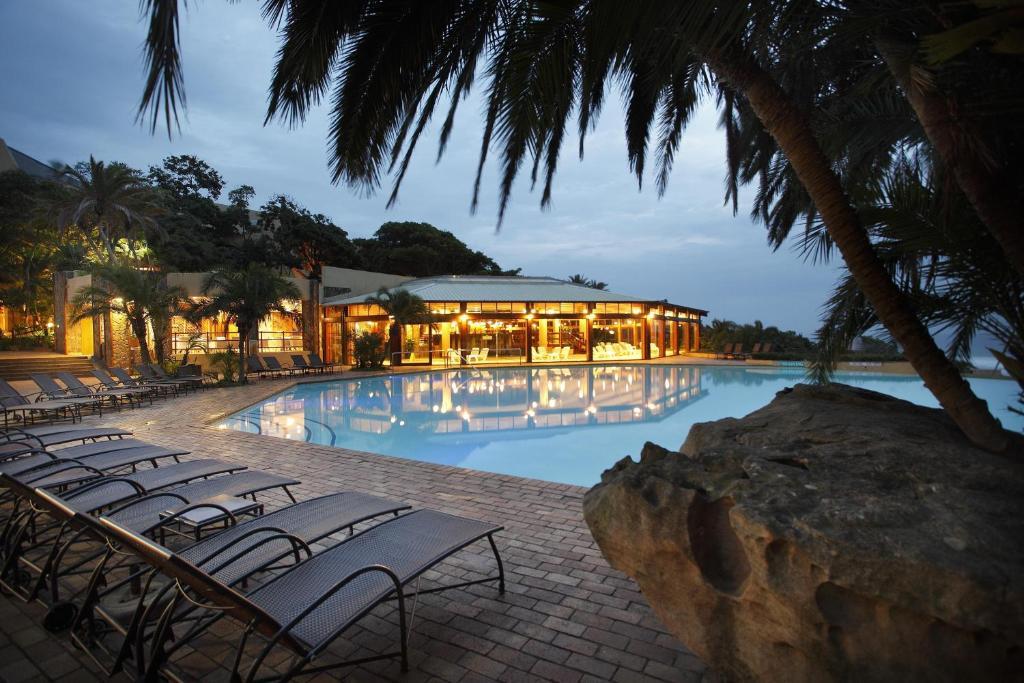 The swimming pool at or close to Wild Coast Sun