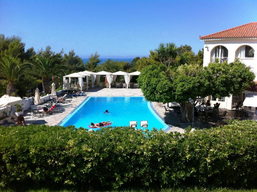 The swimming pool at or near Princess Hotel