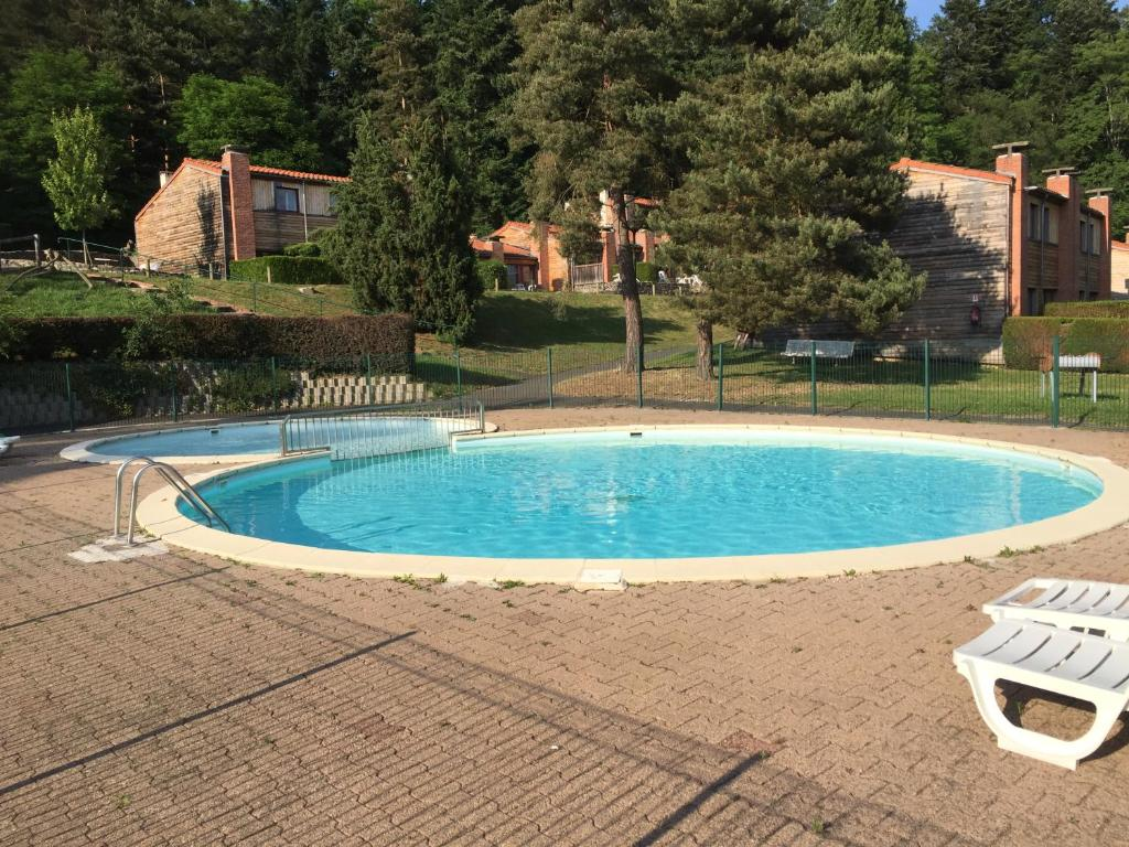 The swimming pool at or near Clos Moulin