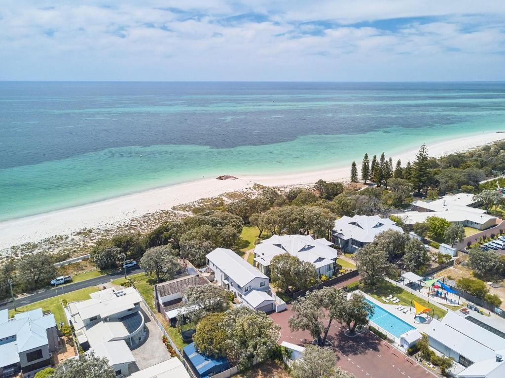 A bird's-eye view of Cape View Beach Resort