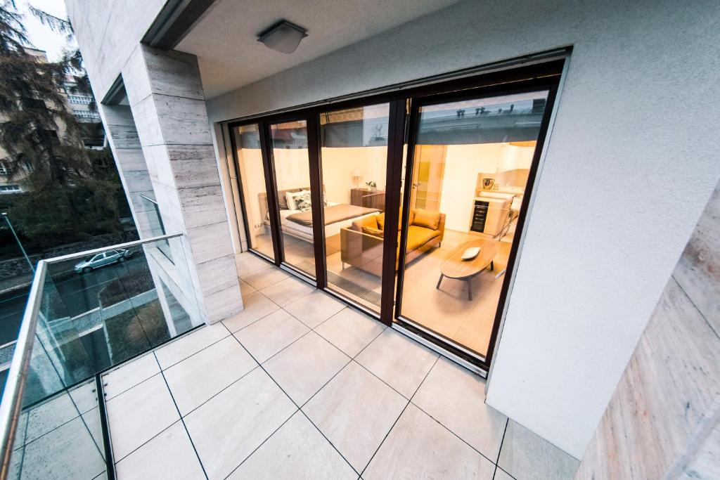 "Een balkon of terras bij Residence ""Park Nikolajka"" 3"