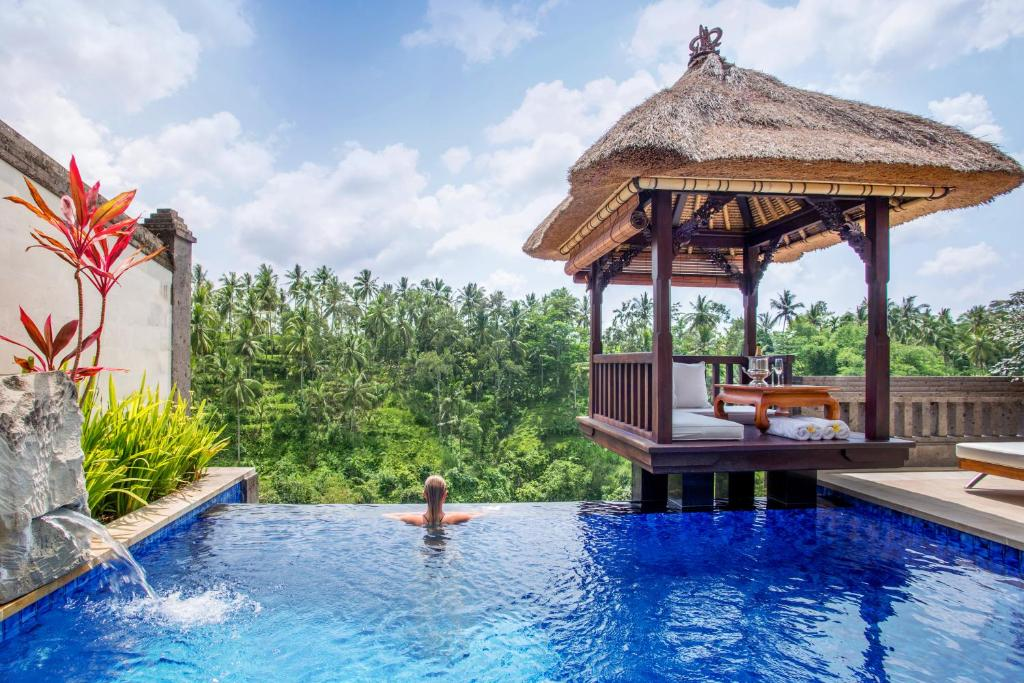 The swimming pool at or near Viceroy Bali