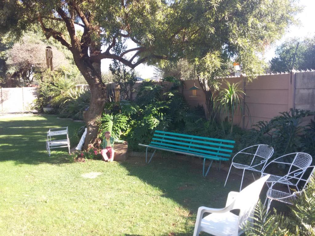 A garden outside Sonyador Guesthouse