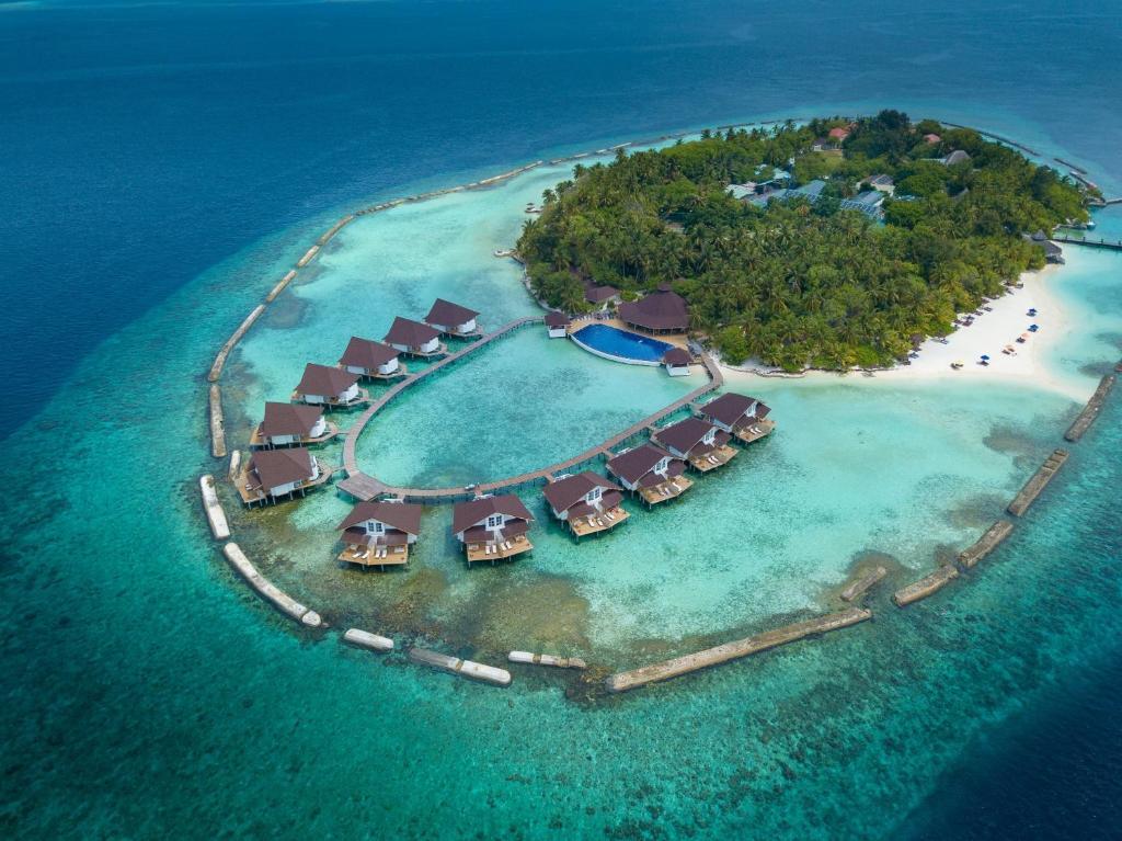 A bird's-eye view of Ellaidhoo Maldives by Cinnamon
