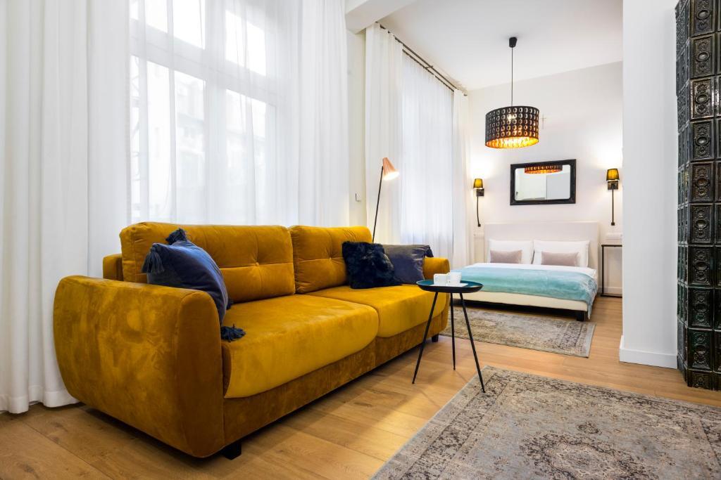 Część wypoczynkowa w obiekcie Apartament Tenczyńska