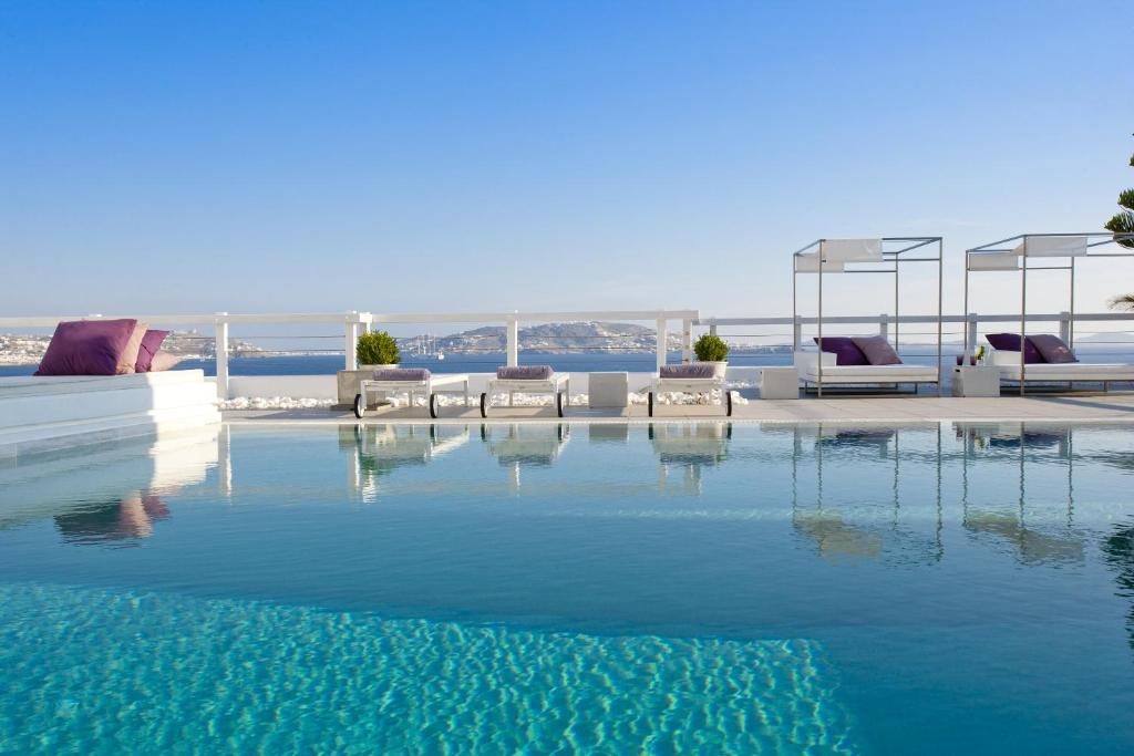 The swimming pool at or near Grace Mykonos