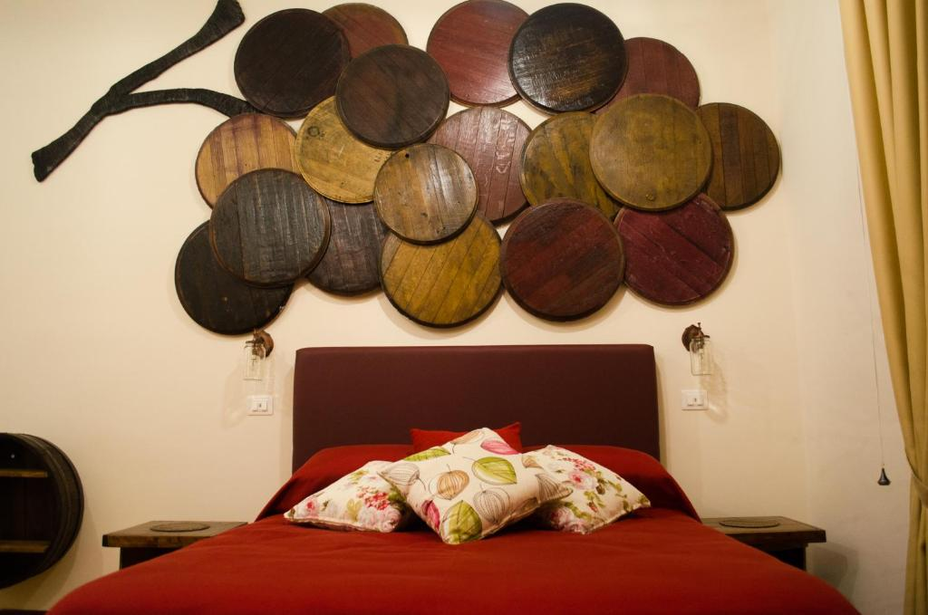 A bed or beds in a room at B&B Sosta Flegrea