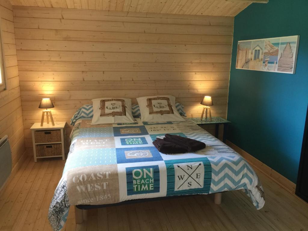 Un ou plusieurs lits dans un hébergement de l'établissement Maison de Lege