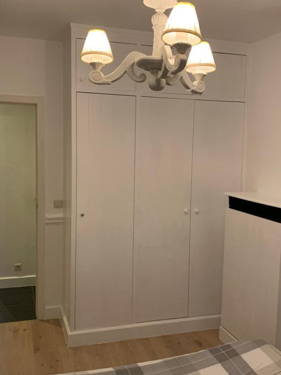 Salle de bains dans l'établissement Apartment Thalassa