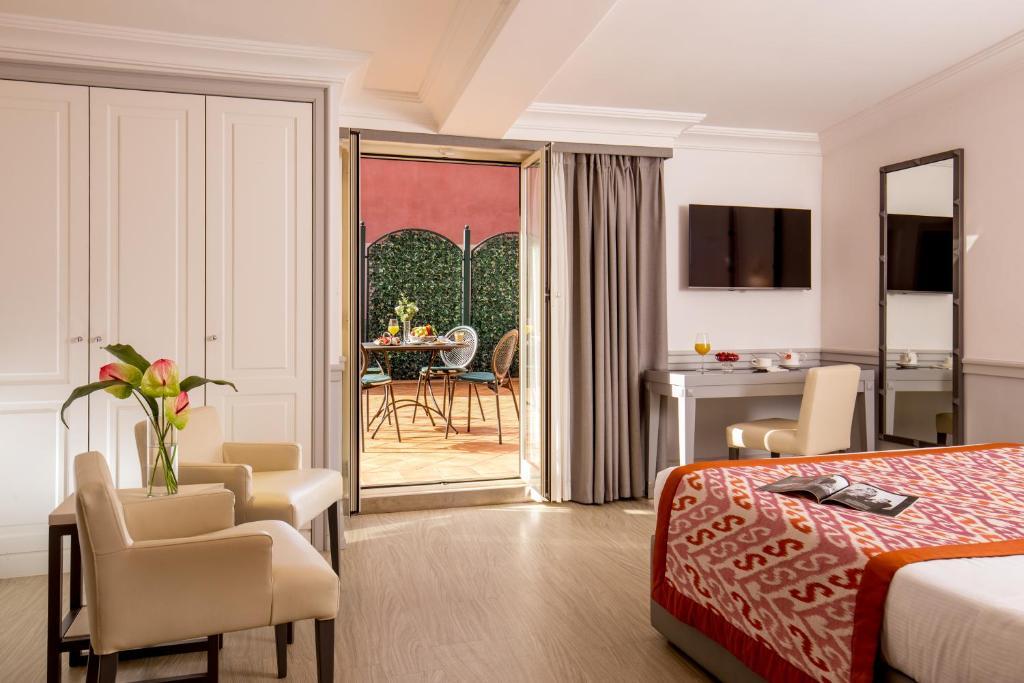 A room at the Hotel Della Conciliazione.