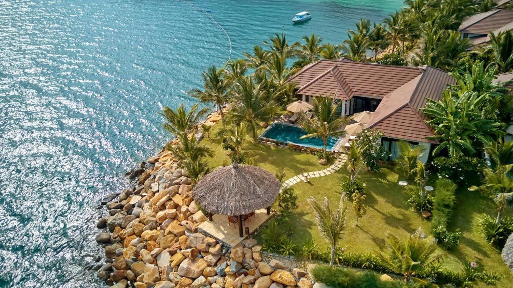 A bird's-eye view of Amiana Resort Nha Trang