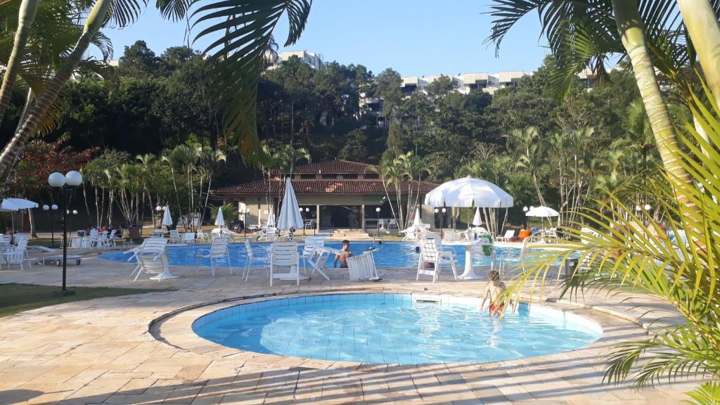 A piscina localizada em Condomínio Fechado - Enseada - Lazer Total ou nos arredores
