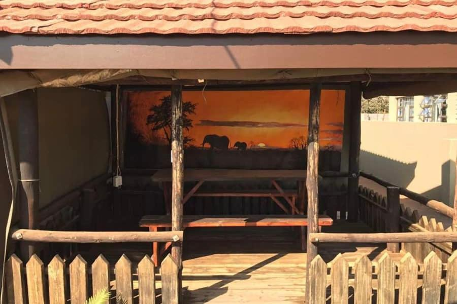 BBQ facilities available to guests at the guesthouse