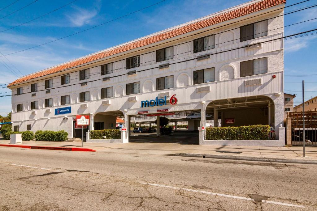 The Motel 6 Monterey Park.