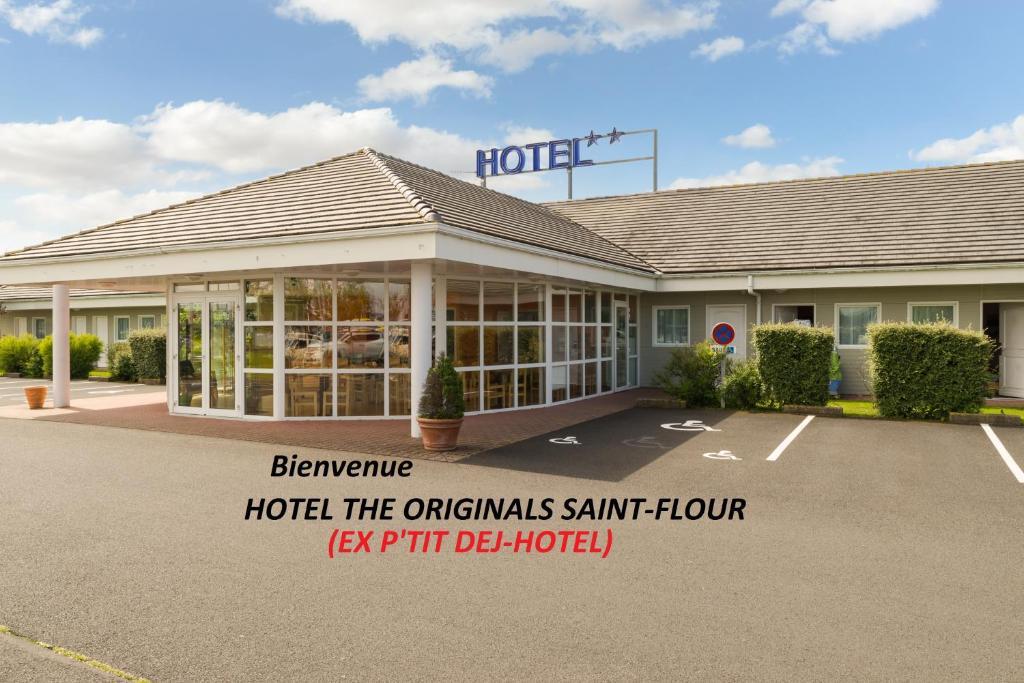 Hotel The Originals Saint-Flour (ex P'tit-Dej Hotel) Saint-Flour, France