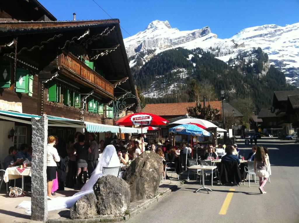 Auberge de la poste Les Diablerets, Switzerland