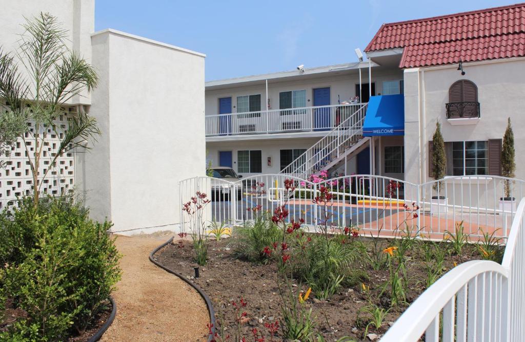 The Motel 6 Gardena.
