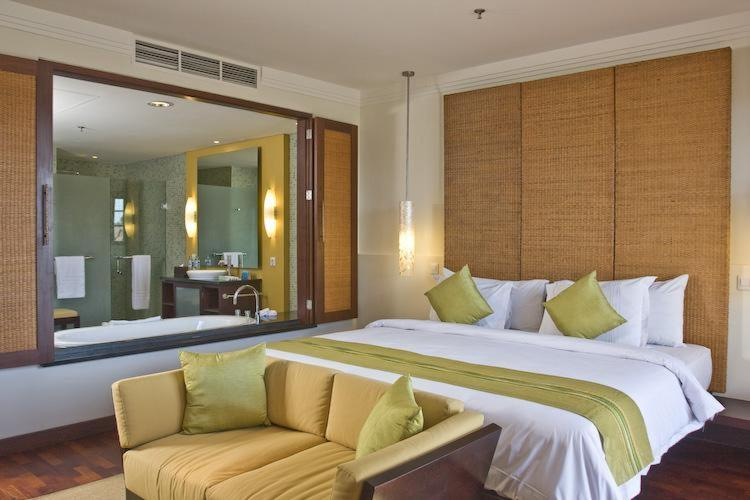 A bed or beds in a room at Apartment Nusa Dua