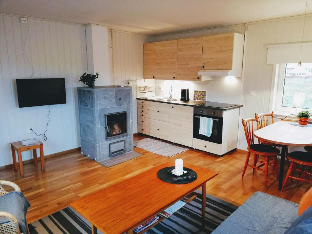 A kitchen or kitchenette at Arctic Circle 16