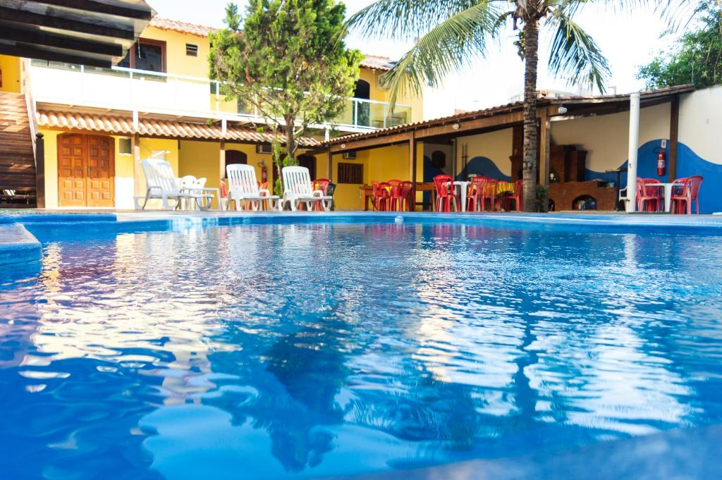 A piscina localizada em Pé N'Areia ou nos arredores