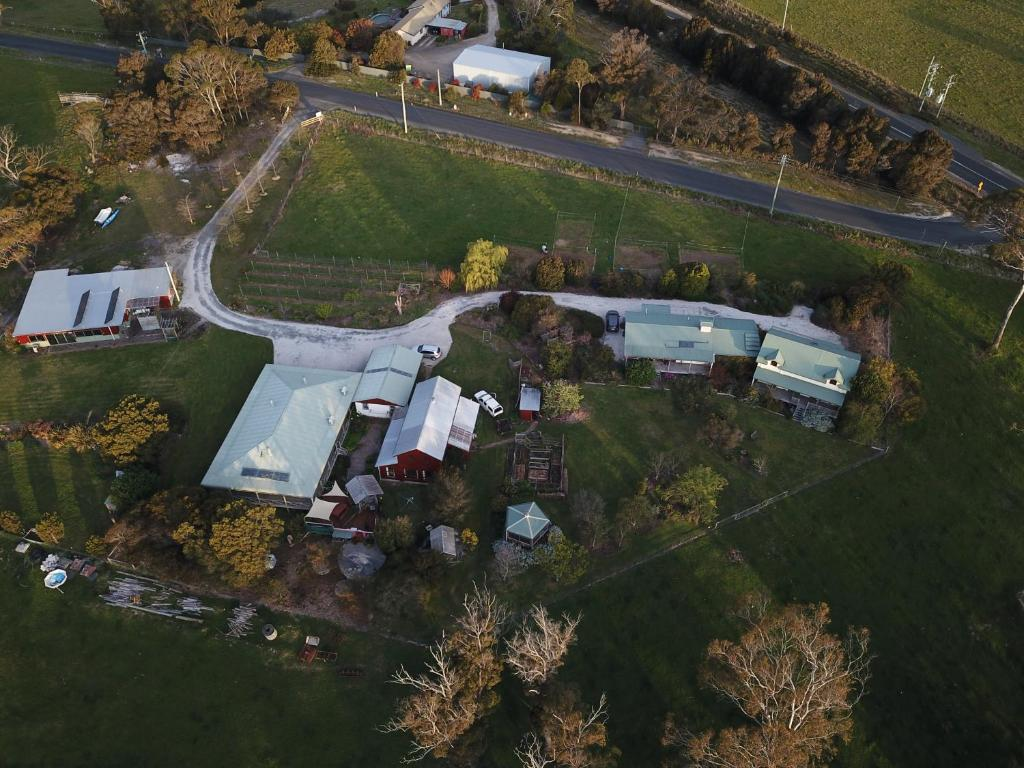 A bird's-eye view of Platypus Park Country Retreat