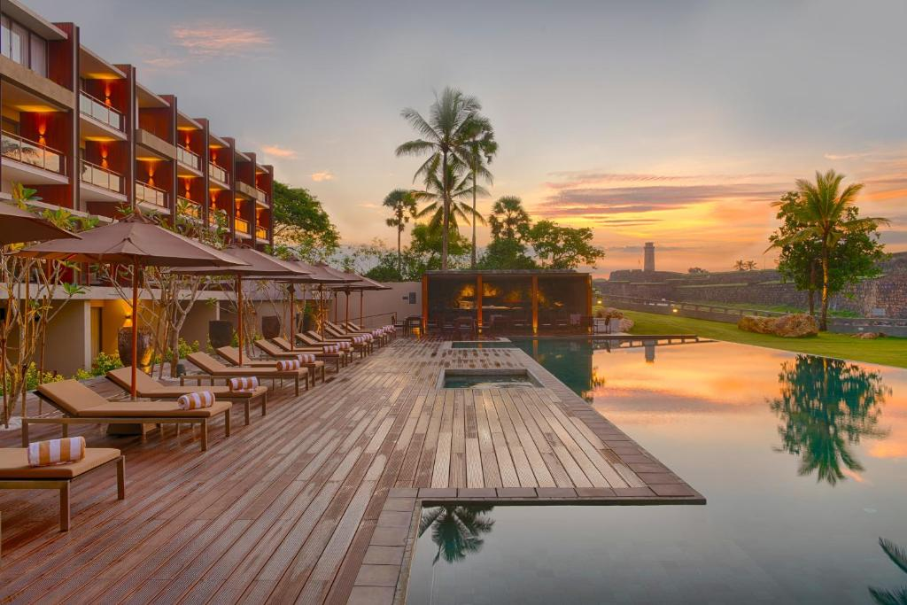 The swimming pool at or near Le Grand Galle By Asia Leisure