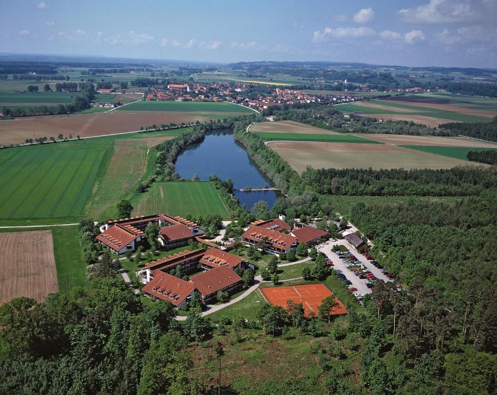 A bird's-eye view of Johannesbad Vitalhotel Jagdhof