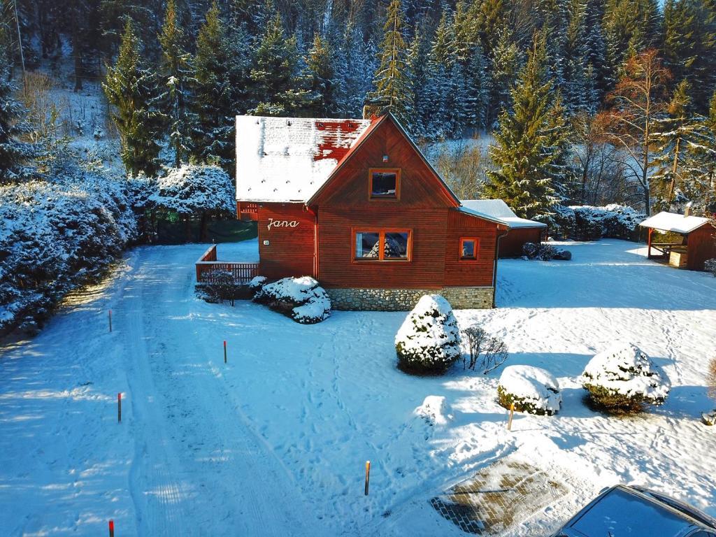 Chata Jana Demänovská Dolina v zimě