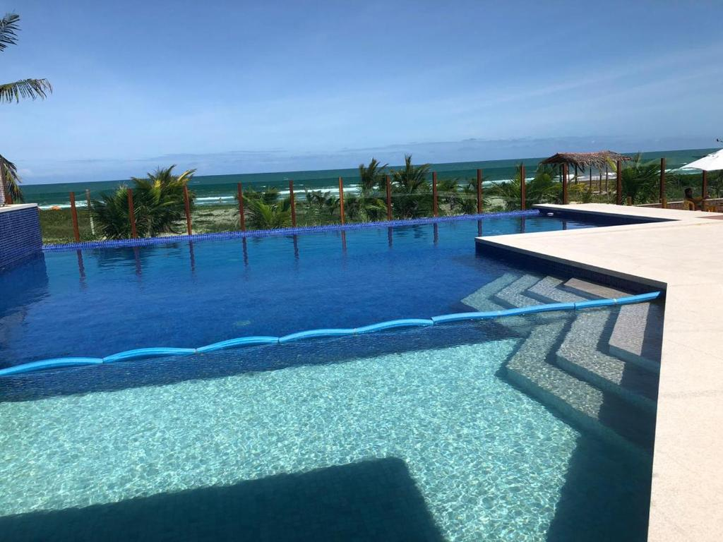 The swimming pool at or near Gabrielly Praia Hotel