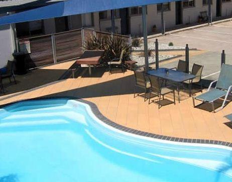 The swimming pool at or near Portarlington Beach Motel