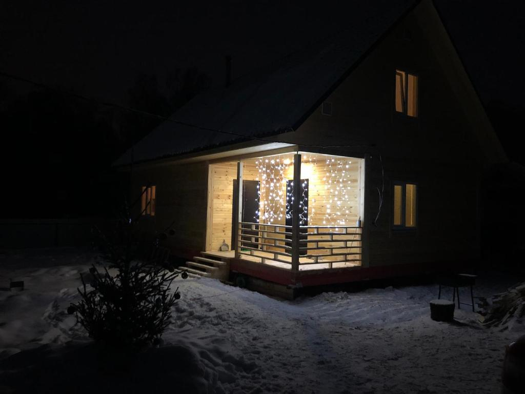 Holiday Home during the winter