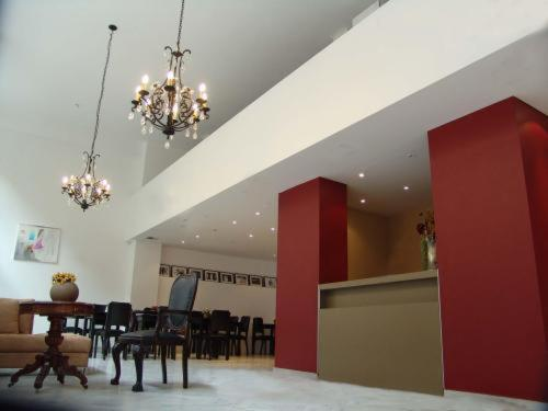 A restaurant or other place to eat at Art Suites Athens